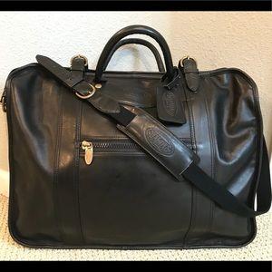 🧳❤️TUMI leather luggage weekender, RARE, VINTAGE